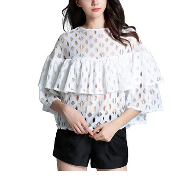 22da5b196baac7 New Fashion Girls Sexy Tops 2017 Blouse Girls Cool Summer Tops - Buy ...