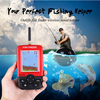 Portable Sonar Fish Finder Wireless with Sensor and GPS