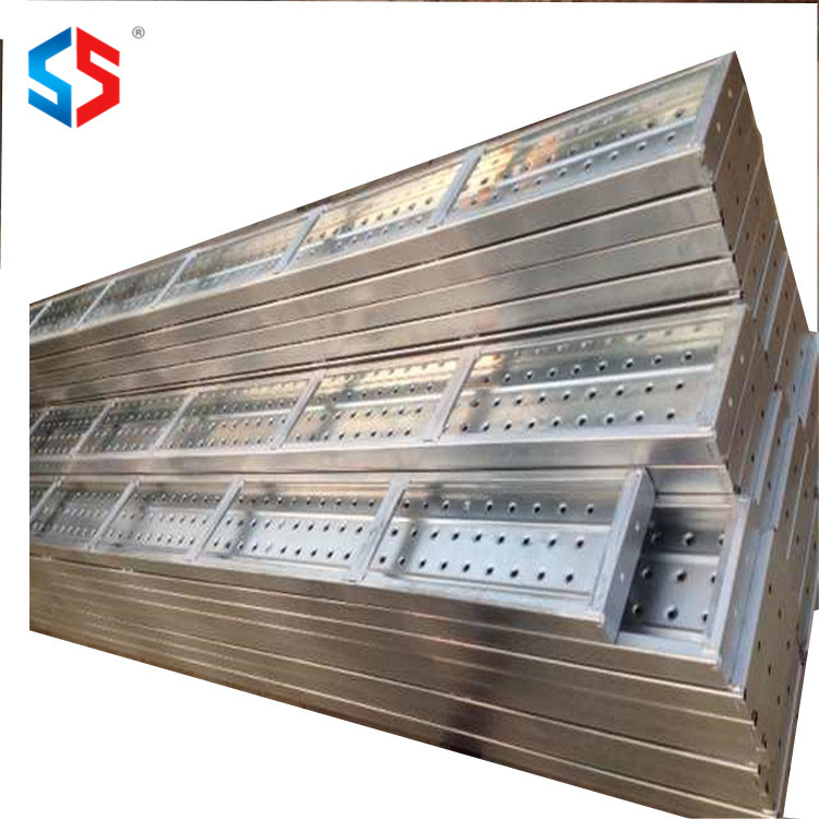 MD-008 Scaffolding Construction Materials Galvanized Punched Building Plank