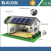 Easy Installation 2kw solar energy system 12v dc power adapter for microsoft surface pro 3 tablet