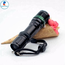 HOT-Selling! XM-L T6 Dimmer LED Zoomable 18650 mini Zoom Flashlight rechargeable waterproof