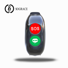 Sograce 2018 Parent Health Voice Call Silicone Wrist Band GPS Phone SOS Elderly H10 Smart Watch Bracelet New Product Ideas