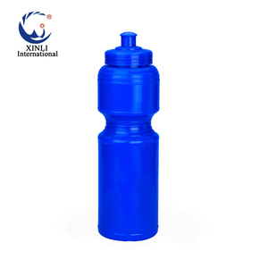 e18249fa9 750ML custom logo plastic gym sports drinking bike travel water bottle