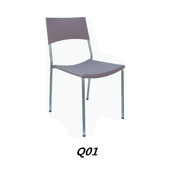 Simple cafe chairs Modern Dining room furniture New arrival plastic chair for sale Q01