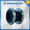 abrasion resistant stainless steel flexible rubber fittings expansion joint
