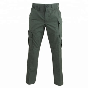 High quality military uniform army olive green pants, police clothing