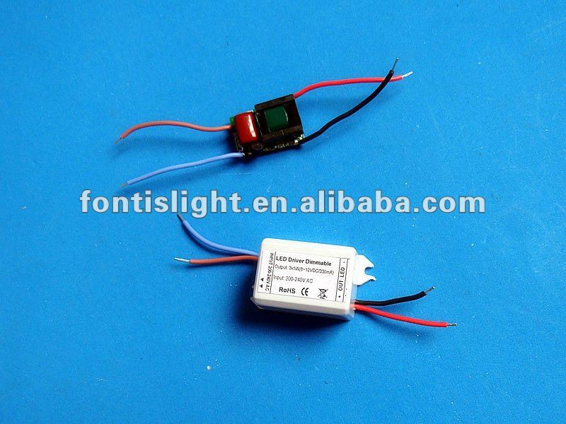 3X1W Led Dimmable Driver