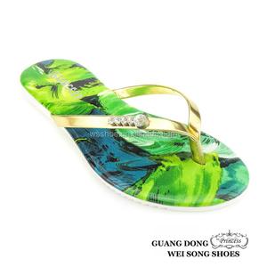 86144b570 little girls summer thong flip flops rhinestone ornament ladies fancy  footwear young fashion shoes wholesale