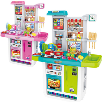 2017 New Electronic Toy Kids Play Kitchen Sets Toys For Kid