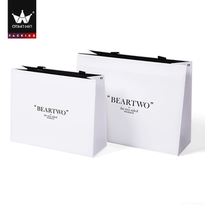 Fancy Paper Raw Material Of Shopping Bag Crown win Package