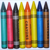 15 Color Crayon Pen in Plastic Barrel for Promotion