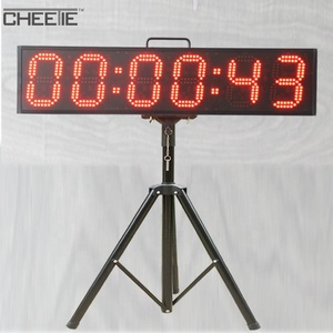 Outdoor Waterproof UHF Marathon Racing Clock LED Sports Timing Systems