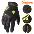 RIGWARL Men Spring Autumn Full Finger Cycling Gloves Bike Motocross Racing Gloves with Protect Shell guantes