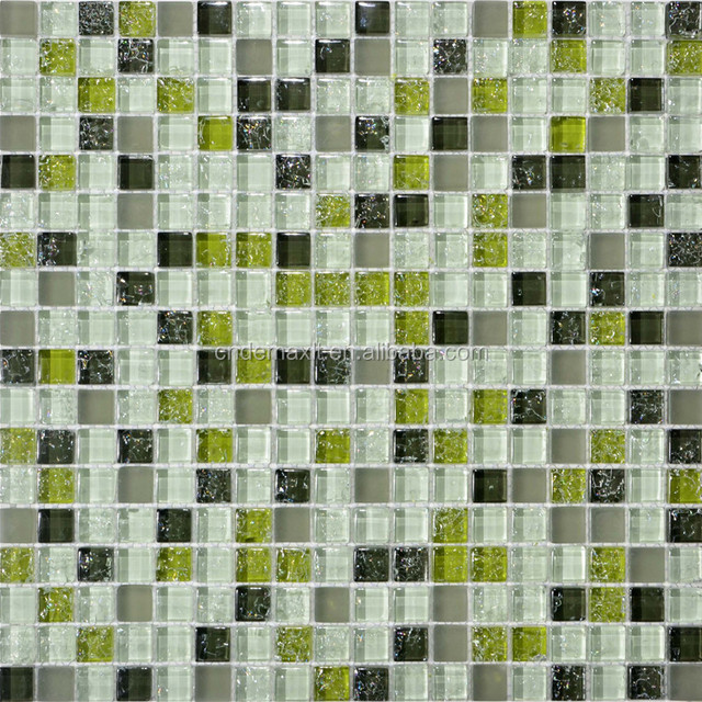 NEW Design Kitchen Backsplash Crystal Glass Mosaic