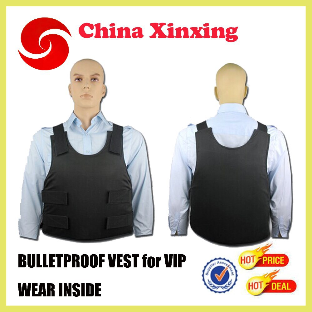 CHINA FACTORY WEAR INSIDE VIP MALE FEMALE BALLISTIC VEST BULLETPROOF VEST