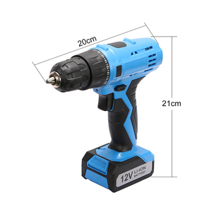 The electric power tools 12v drill dc motor cordless screwdriver