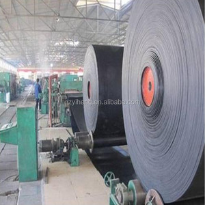 Fire resistant high temperature EP NN CC fabric rubber conveyor belt with national standard