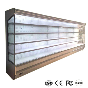 2018 new design optional vertical supermarket commercial multideck showcase refrigerator best price