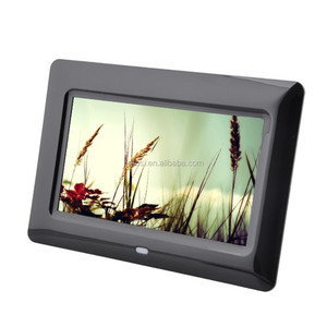 OEM ODM factory provide digital album 7 inch SD/USB/FCC Portable Digital photo viewer
