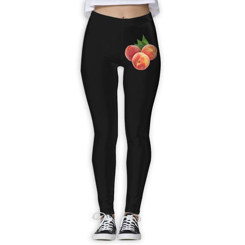 3e9ff8f9e0bbe Get Quotations · NO2XG Peach Women's Full-Length Capri Pants Workout  Running Yoga Sports Pants