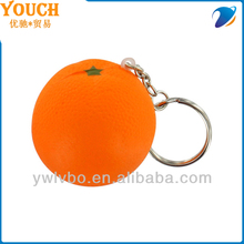 obst Stress kugeln lose Stress kugeln <span class=keywords><strong>orange</strong></span> stress <span class=keywords><strong>ball</strong></span> schlüsselbund