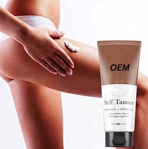 Dye-Free Natural Sunless Self Tanner/ Tanning Cream for Bronzer and Golden Tan Skin