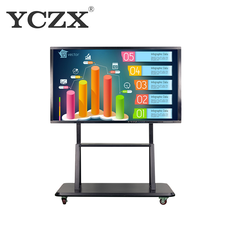 Touchscreen Interactieve Whiteboard Smart Board met infrarood principe