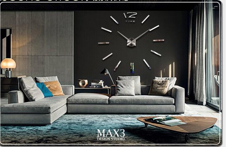 Grandes relojes de pared decorativos pegatinas diy del - Relojes decorativos pared ...