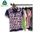 wholesale in 50 kg bales used clothing women T shirt uk mixed bales