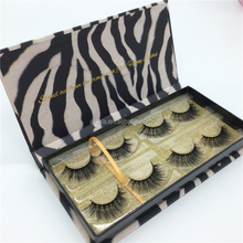 Hot selling high quality custom package 3d mink lashes real mink lashes false eyelash