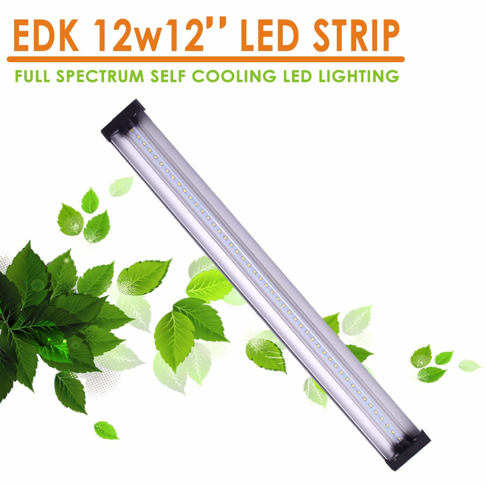EDK LED 12W 12 inch Cabinet Lights Item Type and Warm White Color Temperature(CCT) led under cabinet strip light