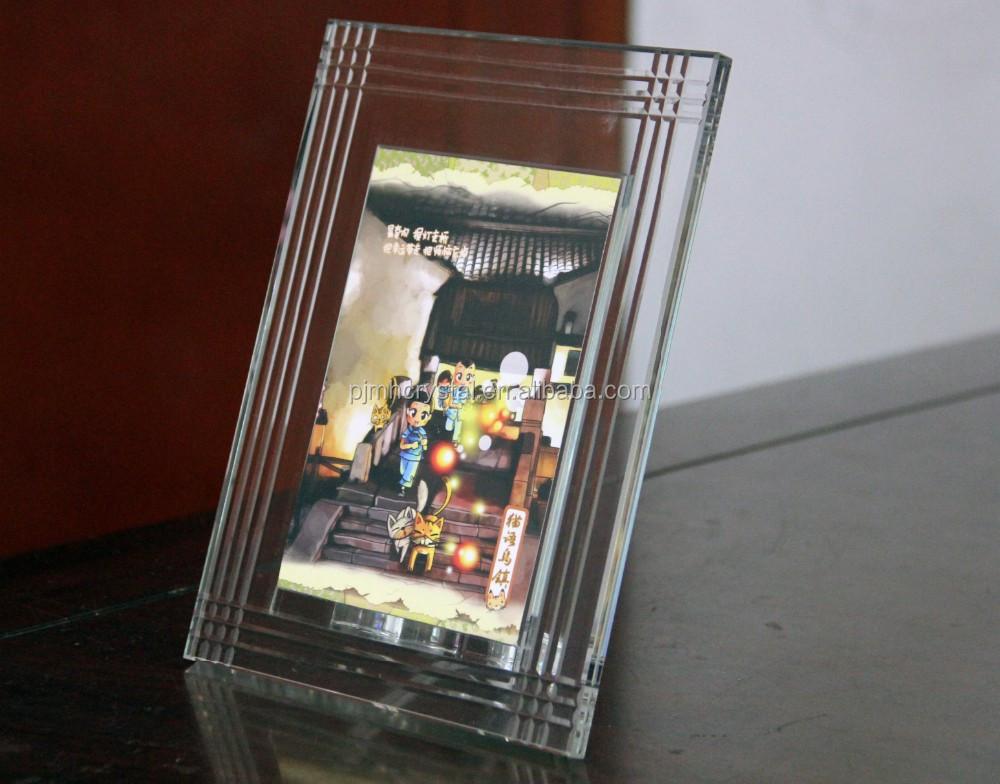 Finden Sie Hohe Qualität Glaswürfel Fotorahmen Hersteller und ...