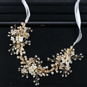 Factory wholesale bridal diamond crystal headpiece