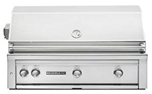 """Sedona by Lynx 42-Inch Gas Grill - Built-In Propane or Natural Gas BBQ Gas With Infrared ProSear Burner & Rotisserie - L700PSR-LP & L700PSR-NG - (42"""" Natural Gas)"""