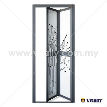 Indoor Bi-fold Door,Aluminium Bi Fold Door - Buy Bi-fold King Bathroom  Door,Aluminium Bathroom Doors,Aluminium Toilet Door Product on Alibaba.com