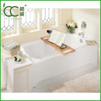Hot Sale Modern Design Bamboo Bath Caddy / Bath Caddy Tub Caddy ...