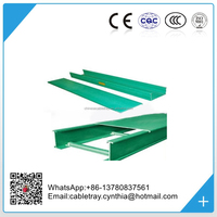 High quality fiber optic cable tray/ Fiberglass perforated Ladder cable tray
