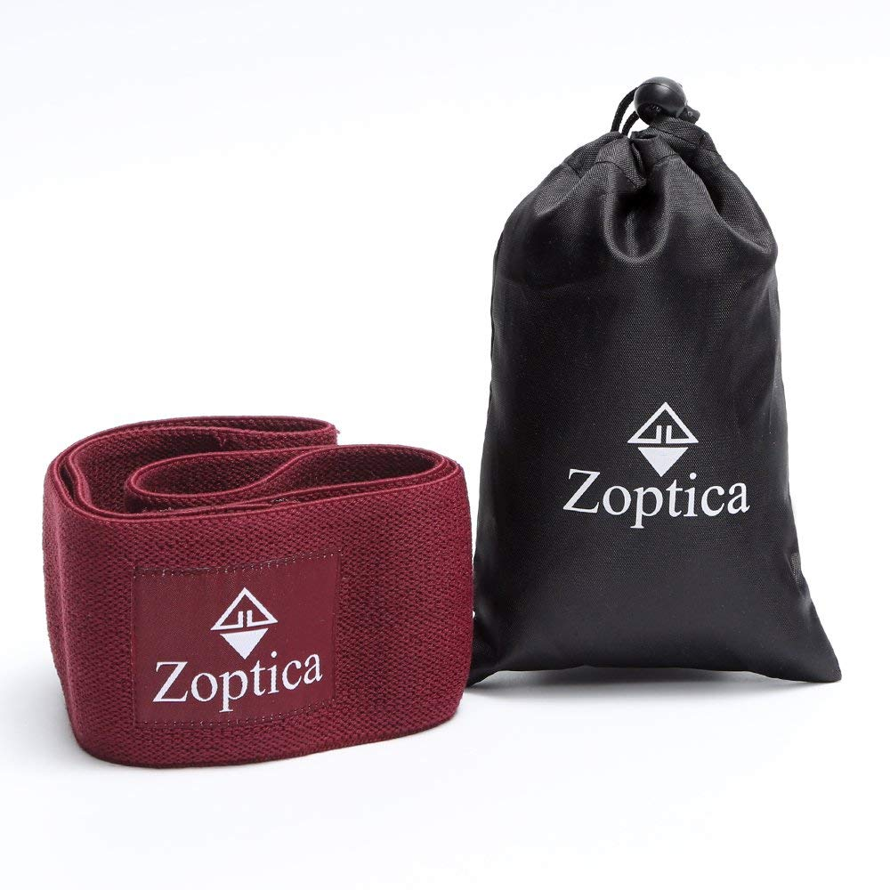 Zoptica Hip Resistance Band For Workout & Exercise| Extra Thick, Durable & Non-slip Gym Circle Loop - Perfect for Stretching, Squats, Warm-up, Pilates| Training Legs, Thighs, Butt for Women & Men