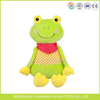 "8"" green crazy green frog plush toy"