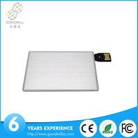 Blank exterio for own creative design office credit card usb