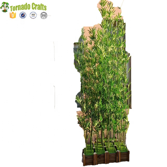 2 m Natural de China tronco de bambú Planta Artificial