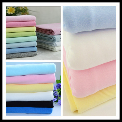 Very soft low formaldehyde 100% cotton fireproof fabric for BABY clothes/t-shirt