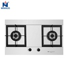 Home use Natural Gas cooker 2 burner Restaurant used LPG gas stove 5 burner for sale