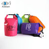 Custom logo outdoor ocean pack 5L waterproof 500D PVC transparent dry bag dry sack