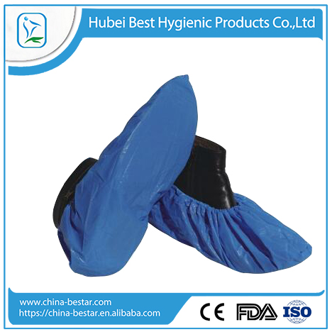 non woven restaurants cleaning shoe cover machine made medical overshoe