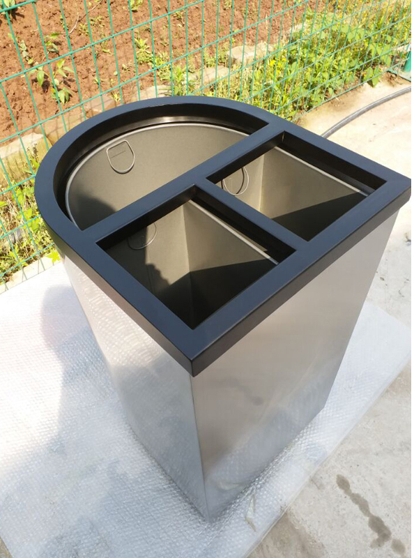 Wholesale stainless steel recycle bins