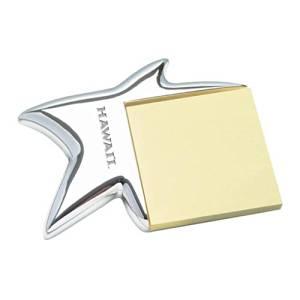 Hawaii Silver Star Note Holder 'Hawaii Engraved'