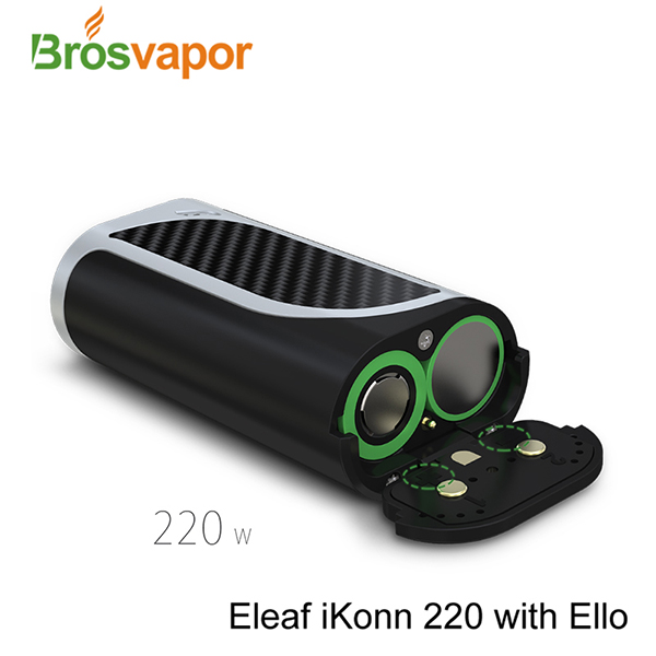 Newest Eleaf iKonn 220 Kit with Ello tank Eleaf iKonn 220W mod TPD Ecig