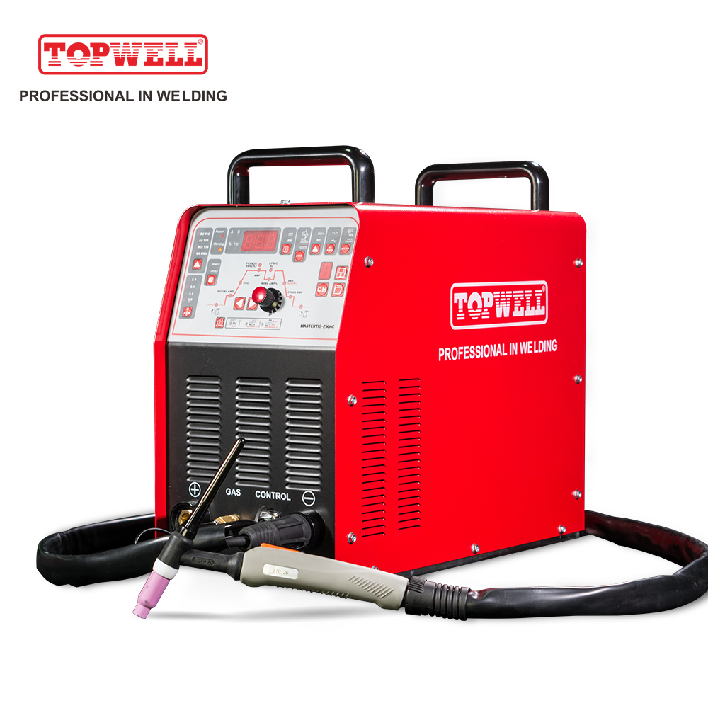 TOPWELL 2 Wave Types TIG 250 AC DC TIG Welding Machine MASTERTIG-250