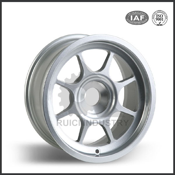 China quality 11-15 dia custom ADC-12 aluminum car alloy wheel